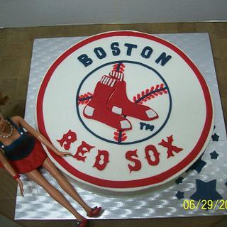 Red Sox Fan - Cake by Chris Jones