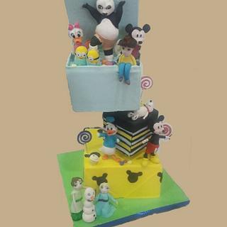 Comic cakes