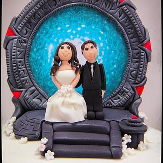 Stargate Cake - Cake by Jo Kavanagh