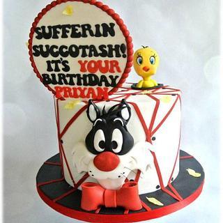 Sufferin Succotash - Cake by Sumaiya Omar - The Cake Duchess