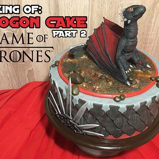 GAME OF THRONES: DROGON CAKE