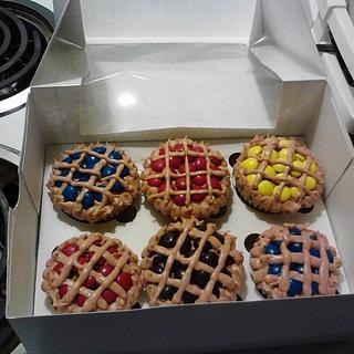 Mini Pie Cupcakes