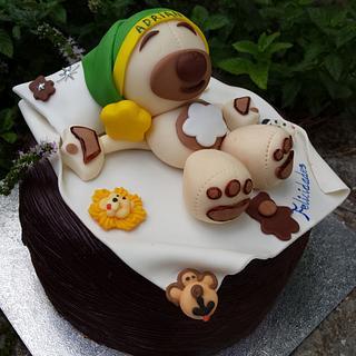Sweet bear and chocolat