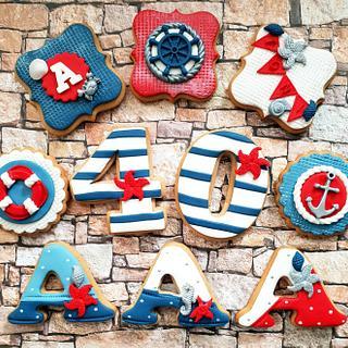 Happy 40th birthday! - Cake by DI ART