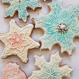 Cookies Snowflake <3