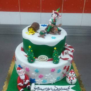 christmas torta