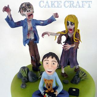 ZOMBIES!!!!!  - Cake by Janette MacPherson Cake Craft