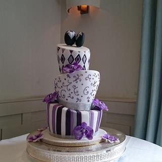 R and H Love - Cake by Cakes by Nina Camberley
