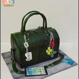 Louis Vuitton handbag - Cake by MaribelAlonso