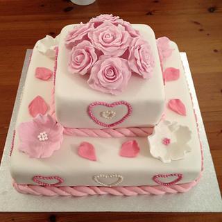 Wedding Cake! - Cake by Cakesatibapa