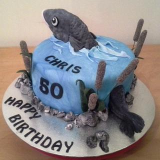 Fish cake...