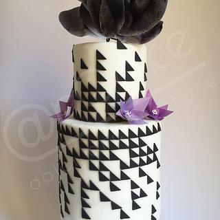 GBV inspired Mosaic cake - Cake by maria antonietta motta - arcake -