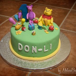 Winnie the Pooh - Cake by Melissa Marthe