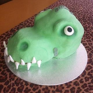 dinosaur cake - Cake by Denise1968