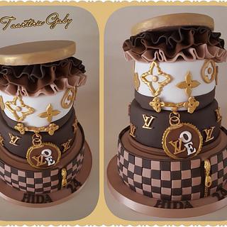 LV cake  - Cake by Gaabykuh