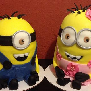 Double Minion Birthday
