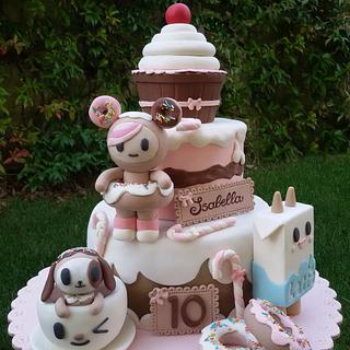 Torta Tokidoki - Tokidoki cake - Cake by Dolcidea creazioni