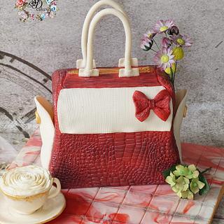 Handbag cake  - Cake by SAIMA HEBEL
