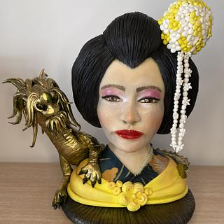 Geisha colaboración internacional Japón