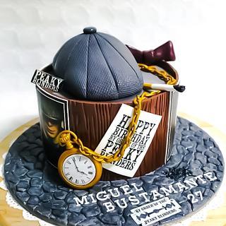 Peaky Blinders - Cake by TartaSan - Damian Benjamin Button