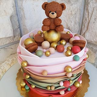 Girly bday cake