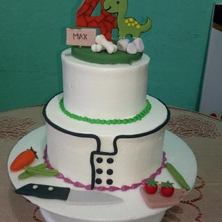 Torta doble diseño