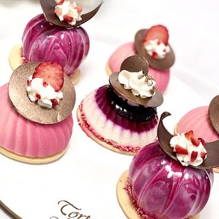 French desserts  - Cake by Torty Katulienka