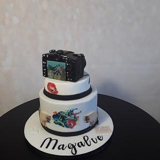 Photography cake - Cake by Céline Dachicourt, Saveur d'un Reve