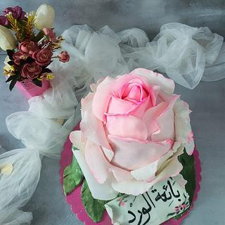 3d Rose cake
