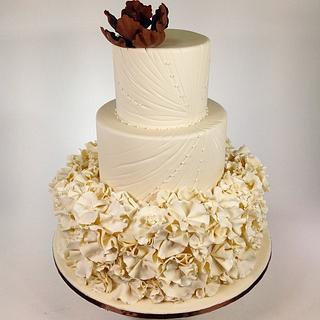 Bed of Flowers - Cake by Sweet Traders