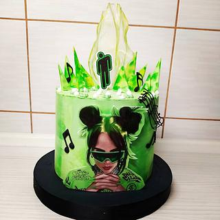 Billie Eilish cake