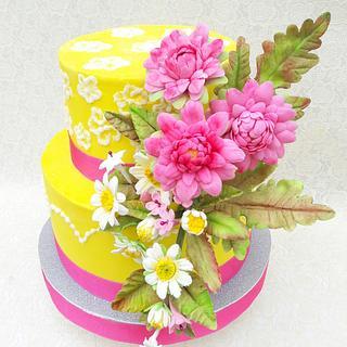 Torta Primaveral - Cake by @lodejuanita lo_de_juanita_1_deco_tortas