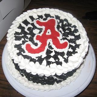 Marvelous Alabama 18 Cakes Cakesdecor Personalised Birthday Cards Veneteletsinfo