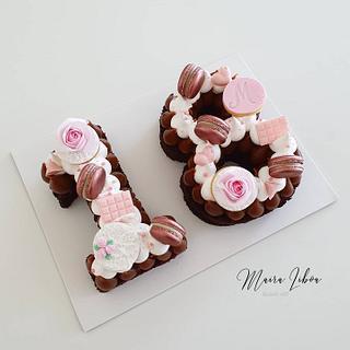 Number cakeumber - Cake by Maira Liboa