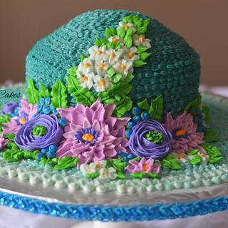 Butter cream hat - Cake by Inoka (Sugar Rose Cakes)