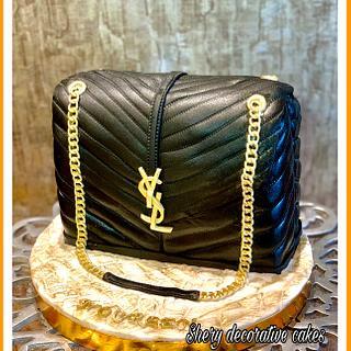YSL bag cake - Cake by Shereen Adel