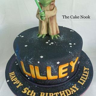 Yoda Cake - Cake by Zoe White