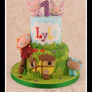 Mini Waybuloo - Cake by Little Cherry