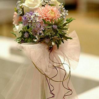 bridal bouquet- freeformed sugar flowers