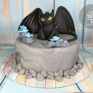 Toothless Cake