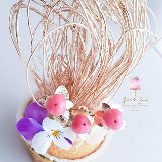 Floral luxury cupcake - Cake by Zoet&Zoet