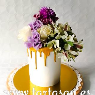 Krása jednoduchosti  - Cake by TartaSan - Damian Benjamin Button