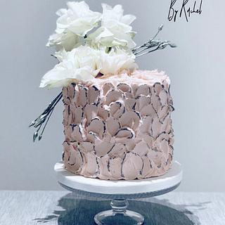 Antique Rose Birthday Cake