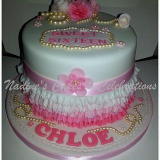 Pink Frills & Pearls