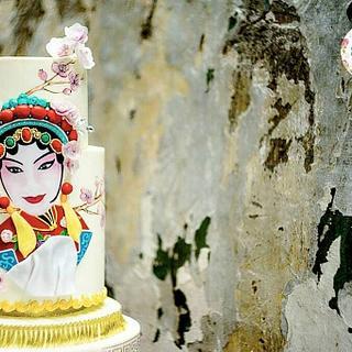 Oriental Beauty - Cake by Lulu Goh