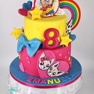 Me contro te Cake  - Cake by Arianna
