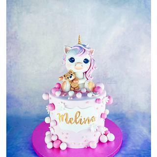 Unicorn  - Cake by Dina's Tortenwelt