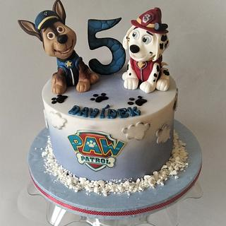Paw patrol  - Cake by Jitkap