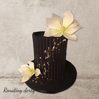 Origami in black - Cake by Renatiny dorty