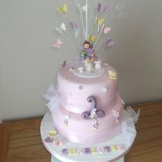 fLOWER FAIRY - Cake by Louise Hodgson